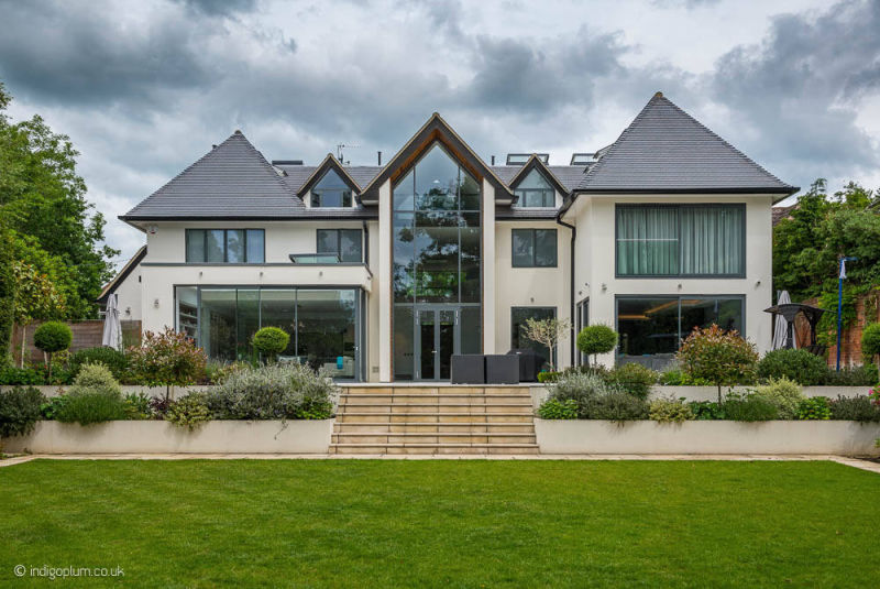 Luxury new build mansion in Hertfordshire