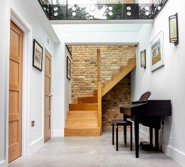 Basement extension in London