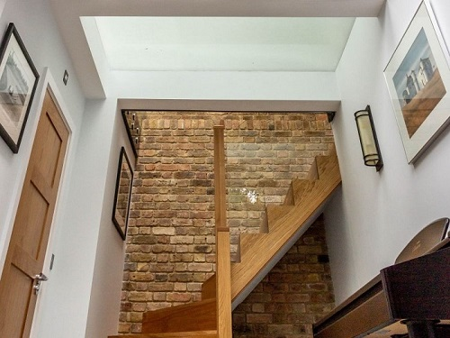 Basement extension in North London