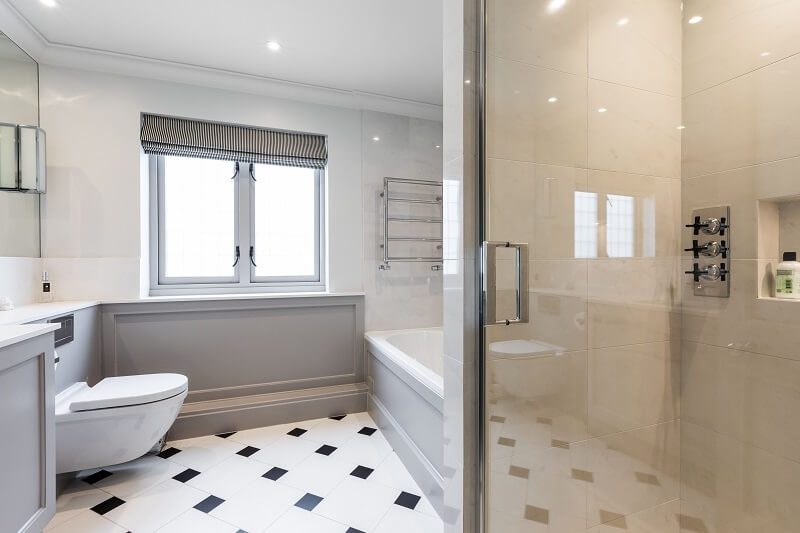 Renovation a bathroom in London
