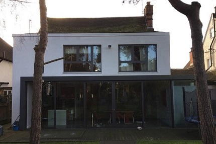London property before a loft conversion