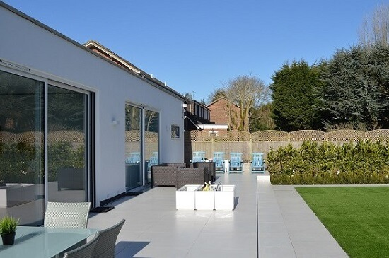 Kitchen extension in north west london