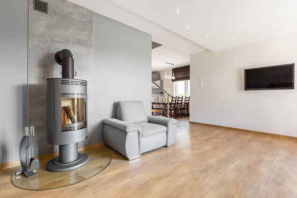 House extensions ideas wood burning fireplace