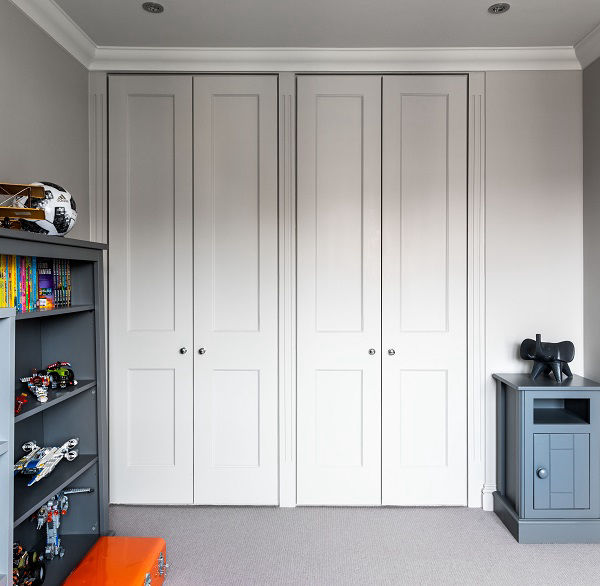 Build in wardrobes in a new build house