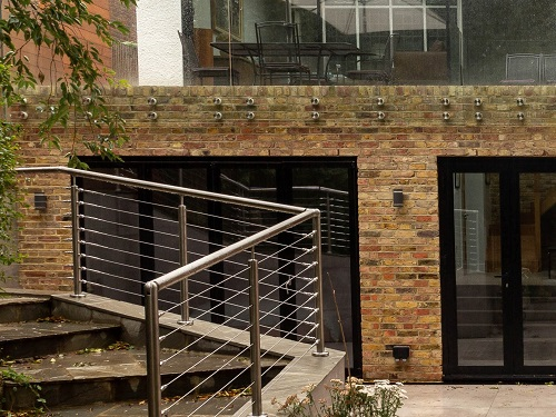 half basement in Hampstead, North West London