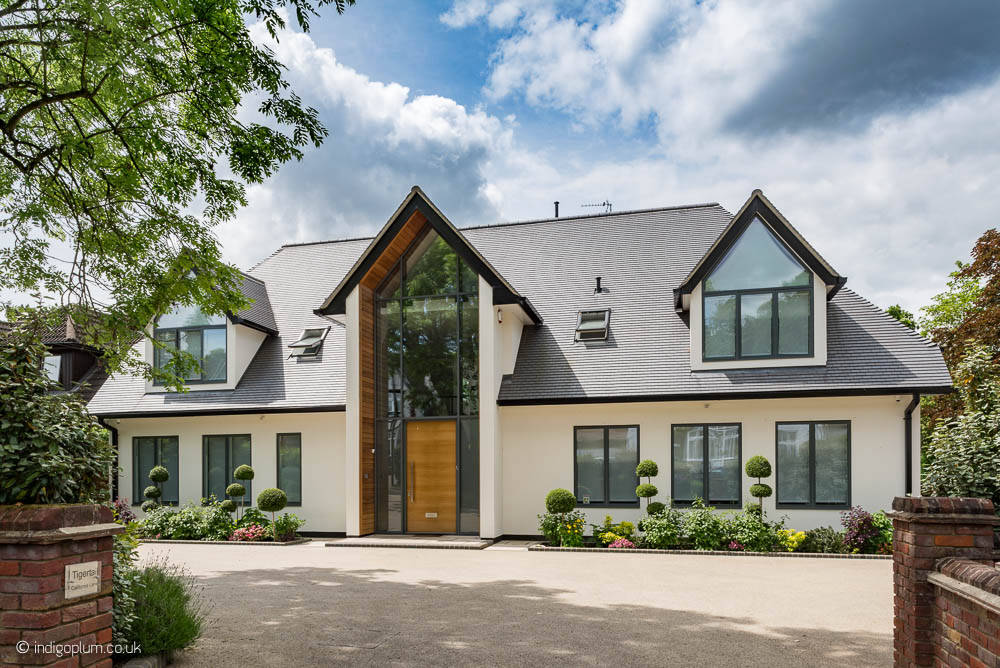 Luxury new build house in Hertfordshire