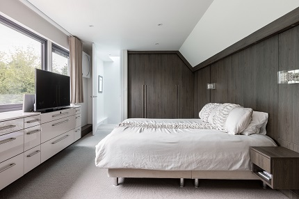 Interiors of a London loft conversion
