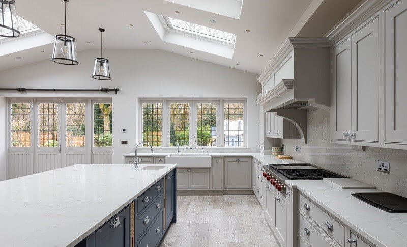 Kitchen extension in North London