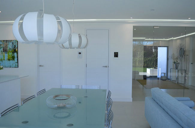House extension ideas strip lighting