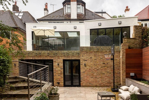 Double storey extension in North West London Hampstead